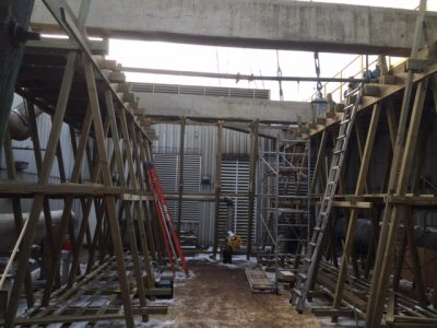 Crossflow Tower Structural Rebuild Interior